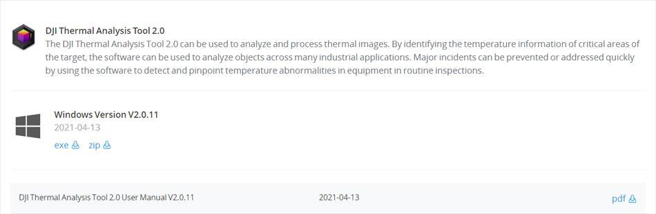 DJI Thermal Analysis Tool
